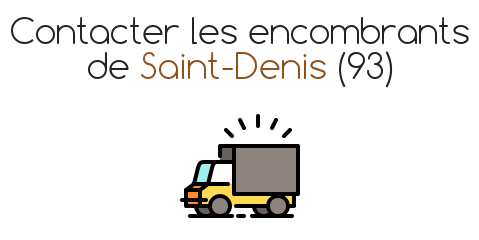 contact encombrant saint denis 93