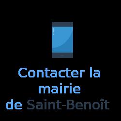 contact mairie Saint-Benoît