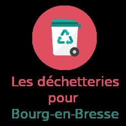 déchetteries Bourg-en Bresse