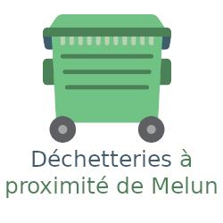déchetteries Melun