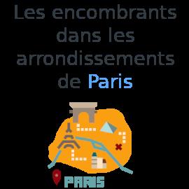 encombrants Paris arrondissements