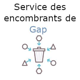 encombrants gap