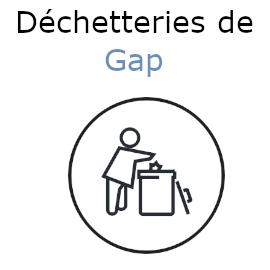 gap déchetteries