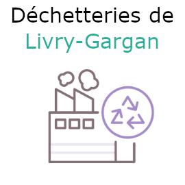 livry-gargan déchetteries