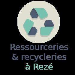 ressourceries recycleries Rezé